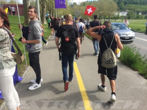 #aarau #spaziergang #demo