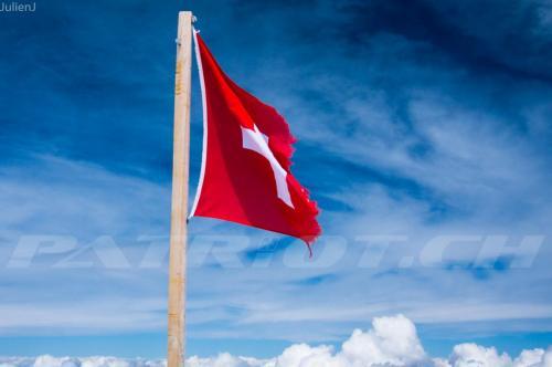 #jungfraujoch #fahne