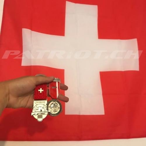#medallie #schiessabzeichen #fahne