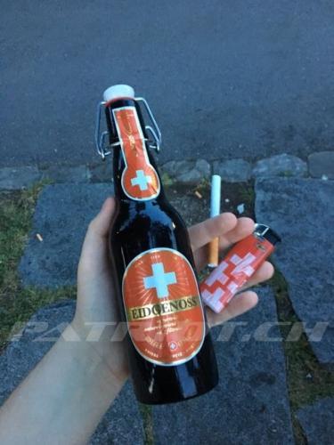 #eidgenoss #bier #feuerzeug
