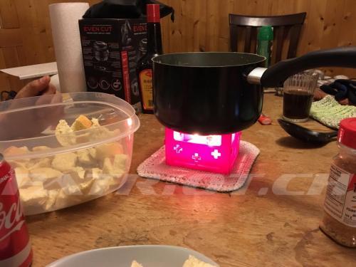 #swiss #fondue in #kanada #canada improvisiert ❤️