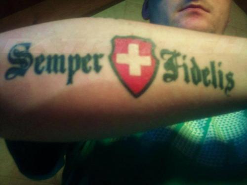 #tattoo #tattoos #semperfidelis #semperfi
