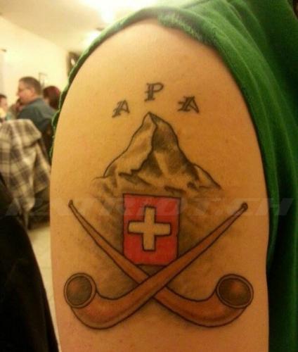 #tattoo #tattoos #alphorn #matterhorn #schweizerkreuz