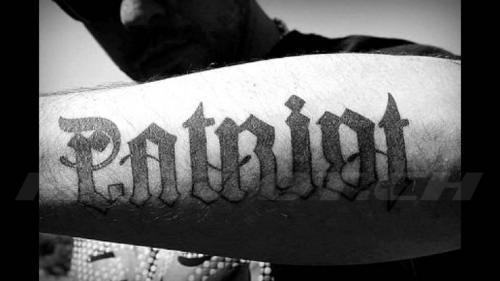 #tattoo #tattoos #patriot