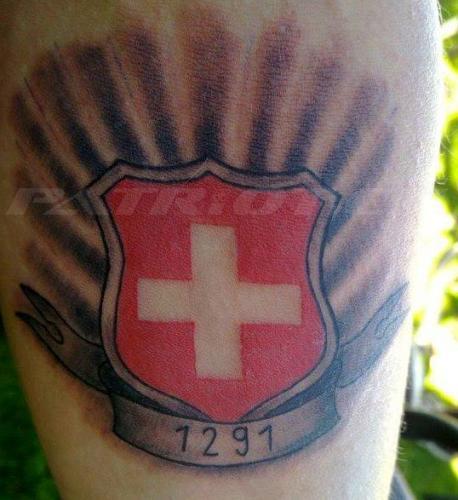 #tattoo #tattoos #1291 #wappen #schweizerkreuz dankä christoph !