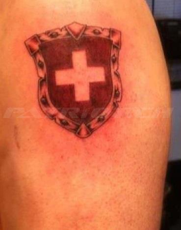 #tattoo #tattoos #wappen #schweizerkreuz dankä eric !