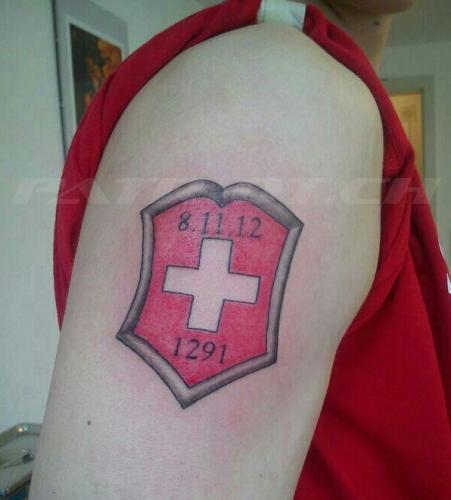 #tattoo #tattoos #wappen #schweizerkreuz #1291