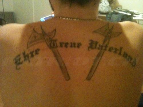 #tattoo #tattoos #hellebarde #ehretreuevaterland