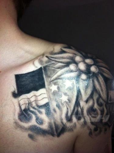 #tattoo #tattoos #aargau #edelweiss