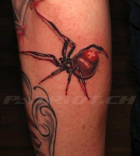 #tattoo #tattoos #spinne #schweizerkreuz