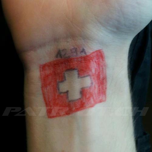#tattoo #tattoos #1291 #schweizerkreuz