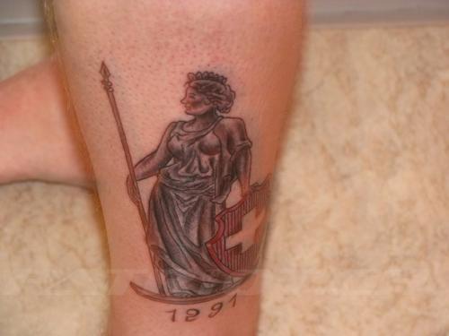 #tattoo #tattoos #helvetia #1291 #schild