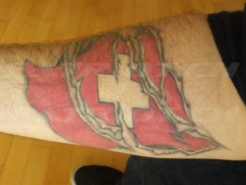 #tattoo #tattoos #fahne