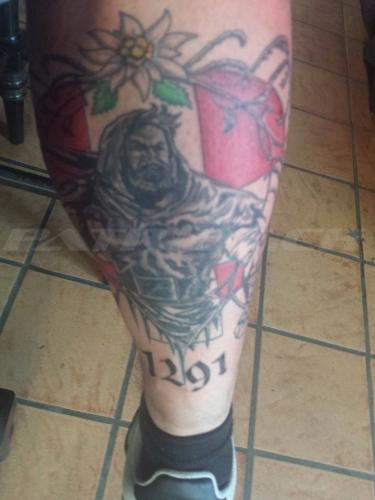 #tattoo #tattoos #wilhelmtell #edelweiss #1291
