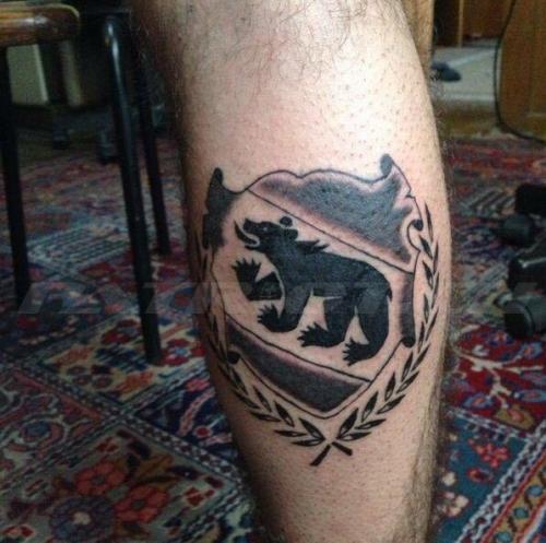 #tattoo #tattoos #bern #wappen #kranz
