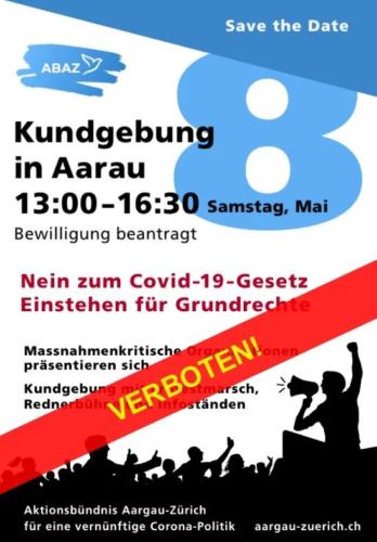 Aarau AG 08.05.2021
